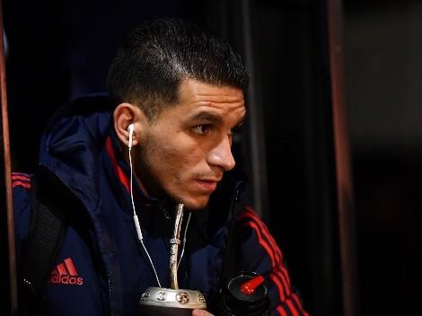 Se terminó su préstamo en el Atlético Madrid y Torreira volvió a hablar de Boca