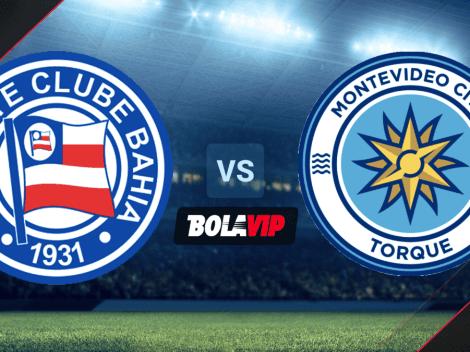Bahia vs. Montevideo City Torque por Copa Sudamericana: hora y canales de TV para ver EN VIVO el partido