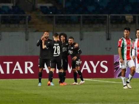 Palestino se despidió con derrota de la Copa Sudamericana