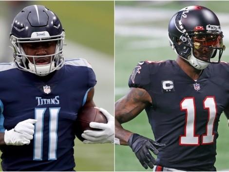 NFL 2021: AJ Brown intenta reclutar a Julio Jones para Titans. ¿Es posible ese intercambio?