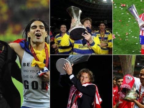 Los sudamericanos que la rompieron en finales de Europa League