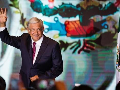 AMLO rifará un lujoso palco en el Estadio Azteca