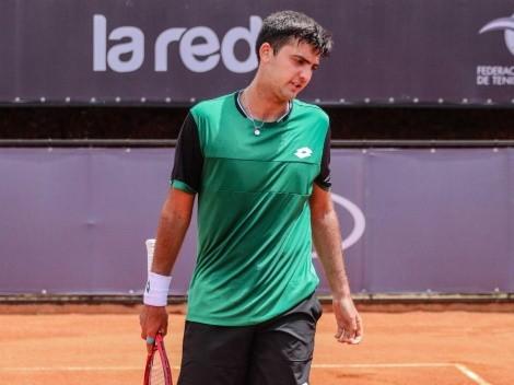 Tomás Barrios cayó ante Tobias Kamke y se despidió de Roland Garros
