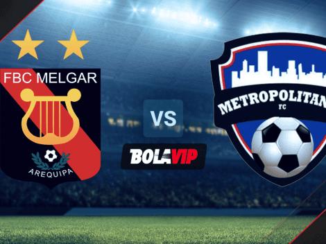 EN VIVO: Melgar vs. Metropolitanos por la Copa Sudamericana