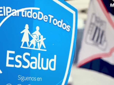 Jugadores de Alianza Lima y ESSALUD enseñan cómo protegerse del Covid-19