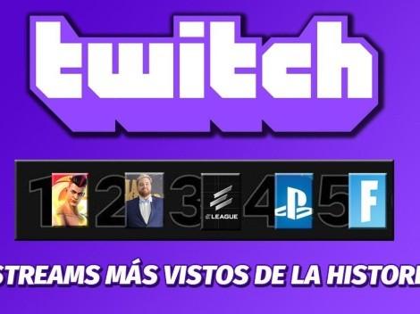 Top Ten: Los streams más vistos en la historia de Twitch
