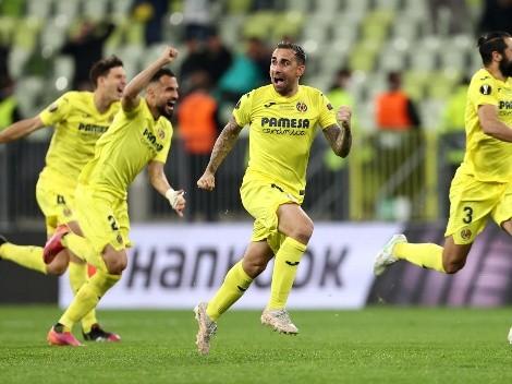 Villarreal bate Manchester United nos pênaltis e é campeão da Liga Europa
