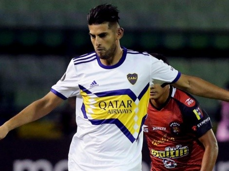 Por la clasificación: Carlos Zambrano vuelve al once titular en Boca Juniors