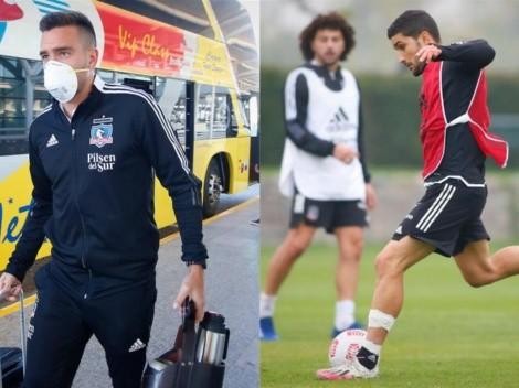 """""""Es uno más"""": Zaldivia menciona la situación de Nicolás Blandi en Colo Colo"""