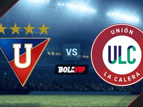 Liga de Quito vs. Unión La Calera por Copa Libertadores: horario y canales de TV para ver EN VIVO el partido