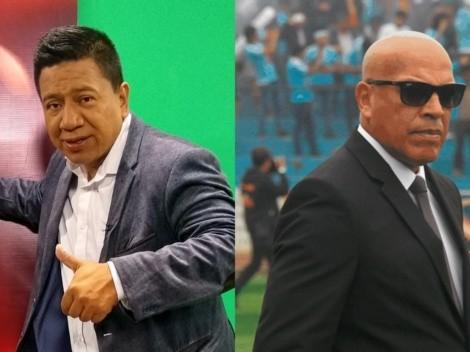 """Silvio Valencia a Mosquera: """"No me hue... con tus excusas, ah"""""""
