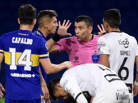 El problema que vivió Roberto Tobar en triunfo de Boca en Libertadores