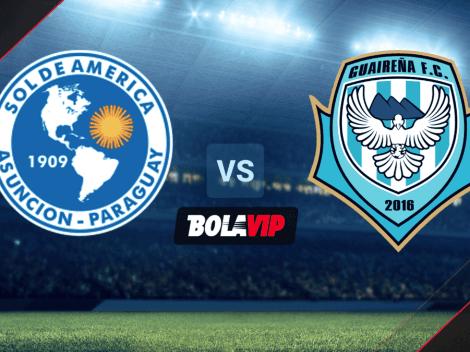 Qué canal transmite Sol de América vs. Guaireña por la Primera División de Paraguay