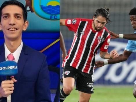 "Granda: ""No creo que exista un hincha de Cristal que celebre pase a Sudamericana"""