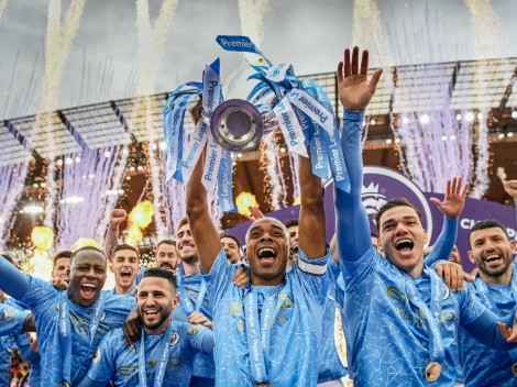 How many titles do Manchester City have?