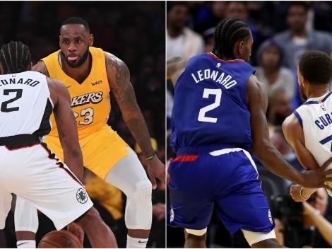 ¿Se va con LeBron o Curry? Los destinos para Kawhi si Clippers fracasa