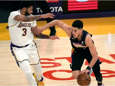 Anthony Davis blasts Devin Booker over late 'dirty' foul