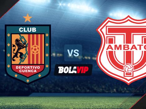 Qué canal transmite Deportivo Cuenca vs. Técnico Universitario por la LigaPro