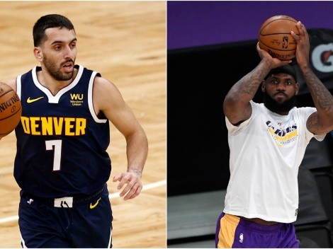 Facundo Campazzo estuvo cerca de jugar con LeBron James en la NBA