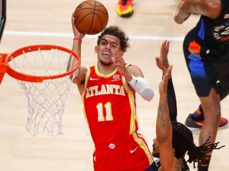Trae Young destruye a Knicks e iguala marca en playoffs de Curry y CP3