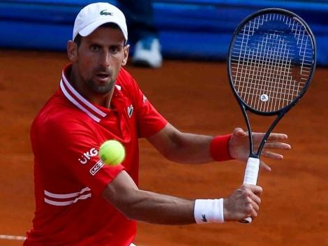 Djokovic ganó en Belgrado y se prepara para enfrentar a Nadal y Federer en Roland Garros