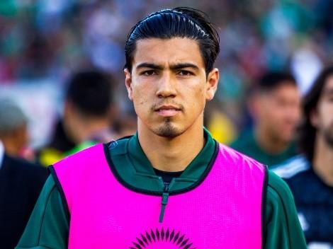 Erick Gutiérrez no jugará la Nations League con México