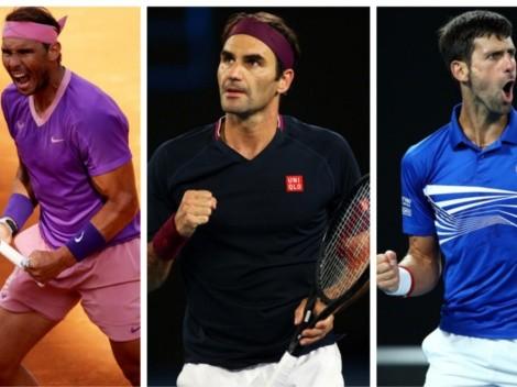 Lo que se juega el Big 3 en este Roland Garros