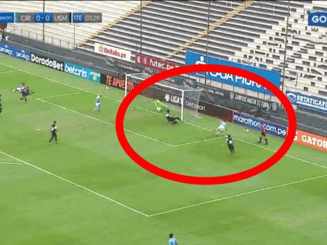 Apareció el gol: Alejandro Hohberg anotó el 1-0 para Sporting Cristal sobre San Martín