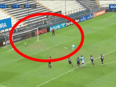 De penal: Marcos Riquelme pone el 2-0 de Sporting Cristal ante San Martín