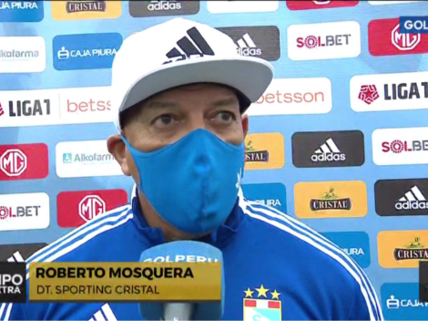 """""""Estoy enamorado de este equipo"""": Roberto Mosquera conmovido tras obtener la fase 1"""