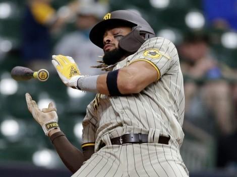Los Astros intentaron golpear a Tatis Jr. y la reacción fue épica