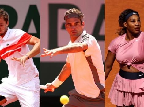 Roland Garros 2021 día 2: Dónde ver EN VIVO los estrenos de Roger Federer, Daniil Medvedev y Serena Williams