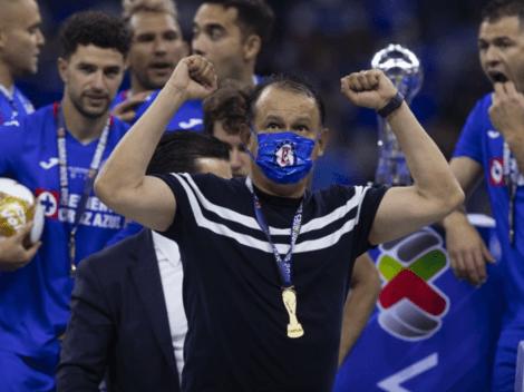 """""""El fútbol y la vida te coloca donde mereces"""": Juan Reynoso habla tras campeonar con Cruz Azul"""