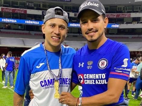 Los ex jugadores de Cruz Azul también festejaron la novena estrella