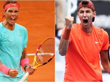 Rafael Nadal x Alexei Popyrin: data, horário e canal para assistir AO VIVO à estreia do espanhol no Roland Garros 2021