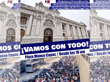 Hinchas de Alianza Lima programan marcha contra ley favorable a Universitario de Deportes