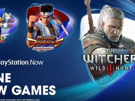 The Witcher 3 llega a PlayStation Now junto a Sonic y Virtua Fighter