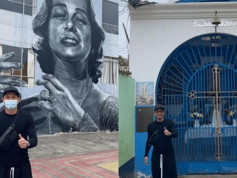 """""""Conociendo los orígenes de mi madre"""": Gianluca Lapadula pasea por Lima"""
