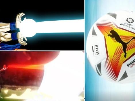 Al mejor estilo Dragon Ball Z: Así se presentó el balón de LaLiga en el stream de Ibai