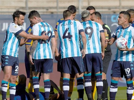 Racing Club de los tres chilenos se metió en la final del fútbol argentino