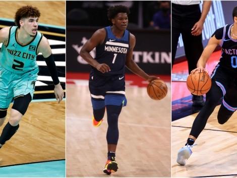 NBA 2021: Ball, Edwards y Haliburton, los finalistas al premio ROY de la temporada