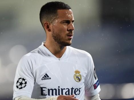 """Hazard elogia Zidane e diz que não pensa em sair do Real Madrid: """"Tenho mais três anos de contrato"""""""