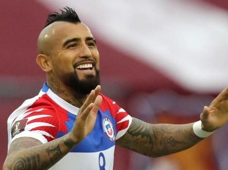 Vidal dio positivo en coronavirus y no juega ante Argentina