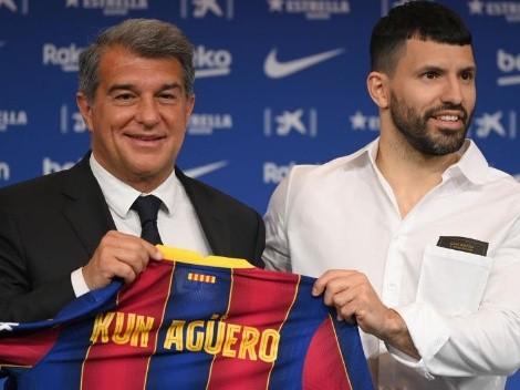 Qué número de camiseta podría usar Agüero en el Barcelona