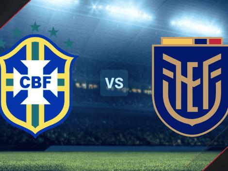 VER EN VIVO Brasil vs. Ecuador por las Eliminatorias Sudamericanas rumbo a Qatar 2022: hora, canal de TV y streaming