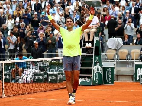 Rafael Nadal avanzó sin problemas a la segunda ronda de Roland Garros