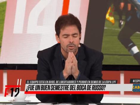 """Closs destrozó a un jugador de Boca: """"Un futbolista profesional tiene que saber hacer eso"""""""