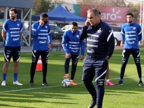 La formación que prepara Chile sin la presencia de Arturo Vidal