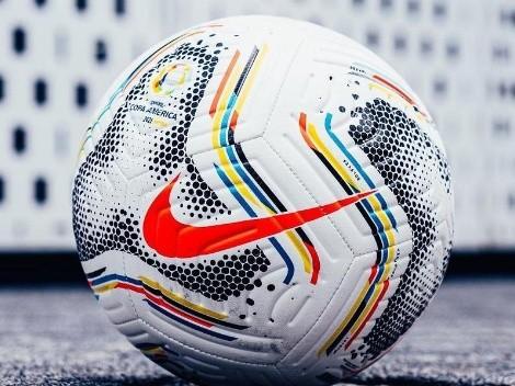 El balón de Nike con el que se disputa la Copa América de Brasil 2021 es un belleza