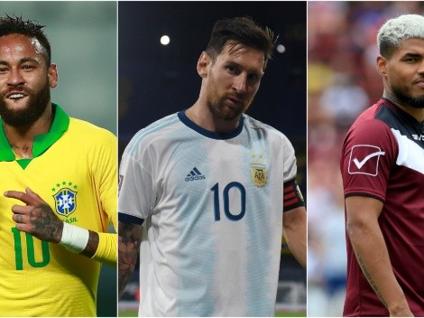 Copa America 2021: The most expensive players from each national team